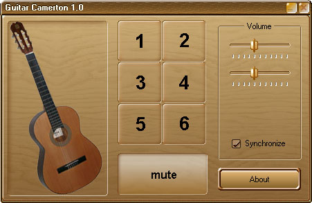 Гитарный камертон